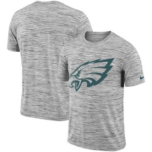 Philadelphia Eagles Nike Sideline Legend Velocity Travel Performance T-Shirt